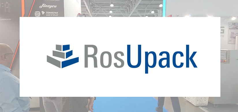 We cordially invite you to visit our booth at RosUpack 2019